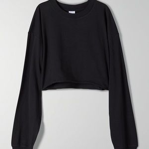 TNA tour cropped long sleeve